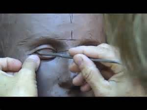 More… Sculpting Eyes in Clay