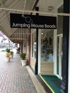 Jumping Mouse Beads & Gallery in downtown Blue Ridge, GA